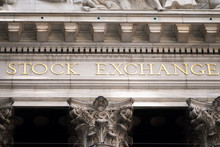 New York Stock Exchange In Wal...
