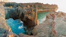 Volcanic Arch Panorama In Pont...