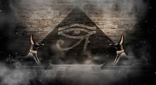 Anubis Of Ancient Egypt (God O...