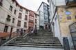 Treppen von der Altstadt zum Etxebarria Park