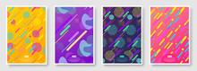 Abstract Covers Set With Seaml...
