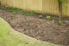 Preparing A Garden Flowerbed F...