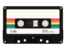 Cassette Tape. Vector Illustra...
