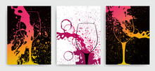Artistic Background For Wine E...