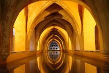Underground Baths Of Real Alcazar De Seville