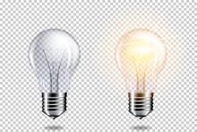 Transparent Realistic Light Bu...