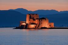 Castle Of Bourtzi In Nafplio, ...