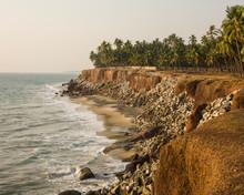 Coastline And Cliffs In India