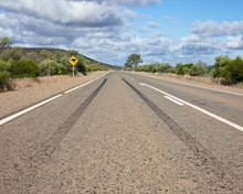 Kangaroo Crossing Sign, Australia
