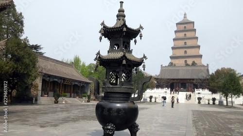 Papiers peints Xian Giant Wild Goose Pagoda Budaset Temple Xian, CHina