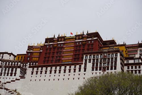 Stampa su Tela Potala palace, Lhasa Tibetan capital