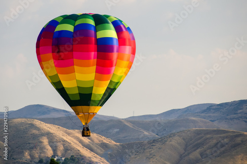 Early Morning Launch of Hot Air Balloon