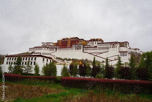 Fotografie, Obraz  Potala palace in Lhasa, Tibetan capital