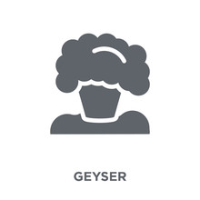 Geyser Icon From Ecology Collection.