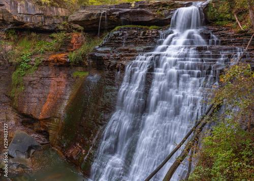 Obraz na plátně Brandywine Falls Cuyahoga Valley