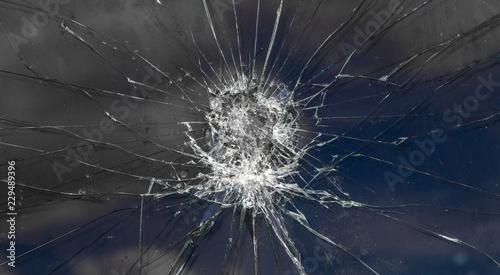 Glasbruch Sachbeschädigung Tablou Canvas