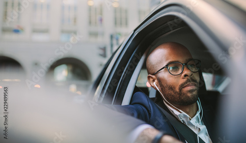 Fotografie, Obraz  Stuck in traffic