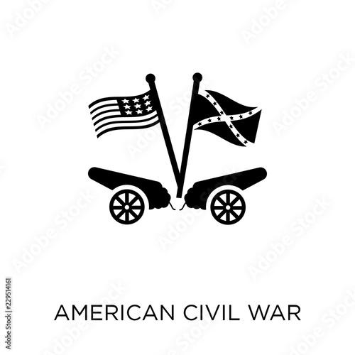 Fototapeta american civil war icon