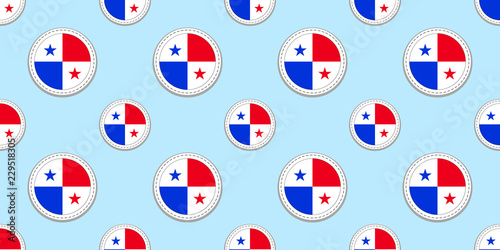 Texture for sports page, competition, games, travelling, school design elements. patriotic wallpaper. By nataliesezam. Panama round flag ...