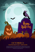 Halloween Party Template With ...