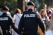 Polizei, Polizisten auf Streife