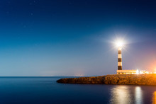 Artrutx Lighthouse In Minorca,...