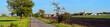 Krajobraz wiejski - panorama