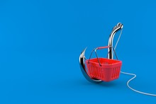 Shopping Basket With Fishing H...