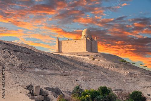 Photo The Mausoleum of Aga Khan, Aswan, Egypt