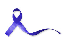 Dark Blue Ribbon For Raising A...