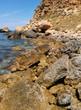 Mediterranean rocky seashore
