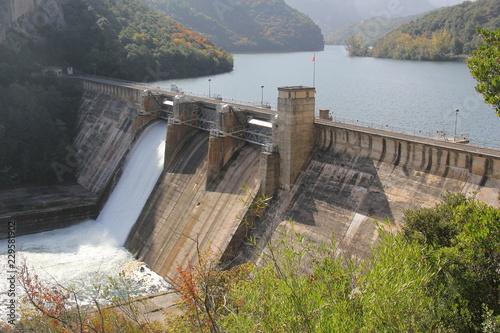 Tuinposter Dam Staudamm