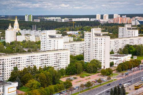 Foto op Canvas Oost Europa Uschod residential quarter
