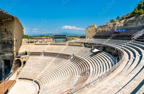 Roman theater of Orange in Provence, France Fototapete
