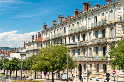 French architecture in Valence, France