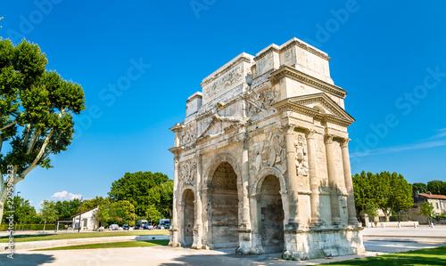 Cuadros en Lienzo The Triumphal Arch of Orange, France
