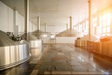Interior Modern Brewery Plant,...
