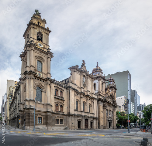 Old Cathedral of Rio de Janeiro - Church of Our Lady of Mount Carmel of the Ancient Se - Rio de Janeiro, Brazil