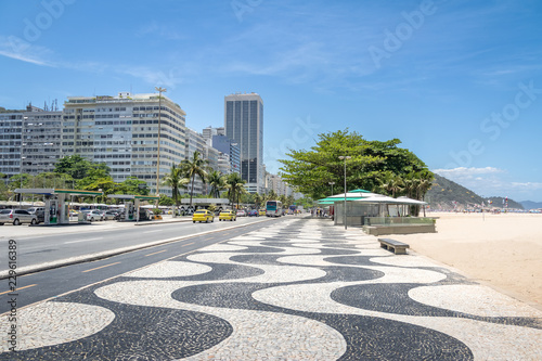 Copacabana Beach - Rio de Janeiro, Brazil