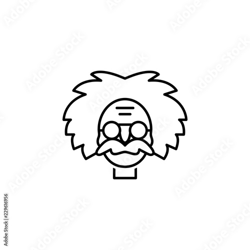 Photo  einstein icon