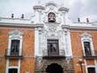 edificio blanco con campanas tlaxcala mexico