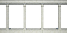 Colonnade In The Classic Style...