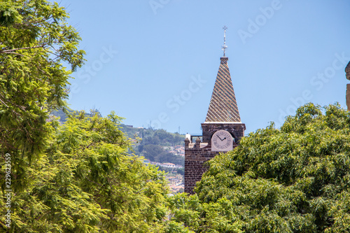 Foto op Canvas Cathedral Cove Funchal Kathedrale Madeira