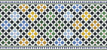 Wall Tiles Alhambra Design