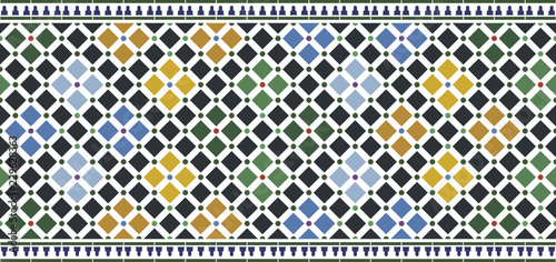wall tiles alhambra design