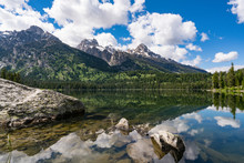 Taggart Lake, Grand Teton Nati...