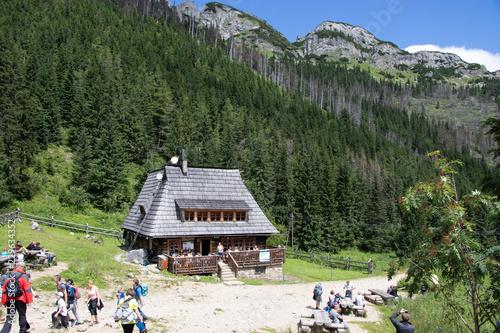 Rifiugio, Hala Kondratowa, monti Tatra, Polonia