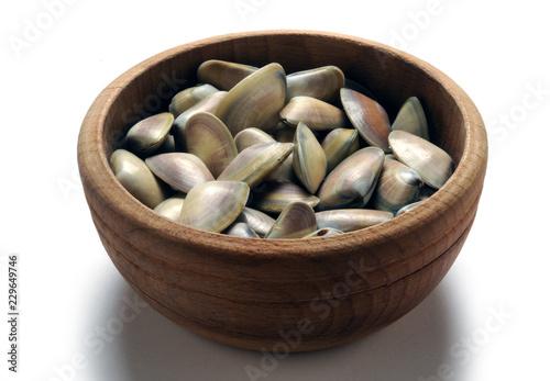 Donax trunculus Tellina Обрезанный донакс Wedge clam Arsella Cadelucha Telline Arselle ft81071271