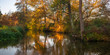 Rzeka Rawka, Jesienny świt nad rzeką