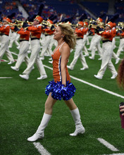 Young College Cheerleader Perf...